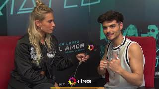 Abraham Mateo compartió su experiencia de cantar con Jennifer López