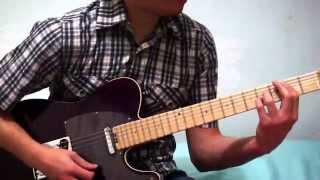 GIRLS JUST WANNA HAVE FUN - CINDY LAUPER GUITAR COVER ANDY30