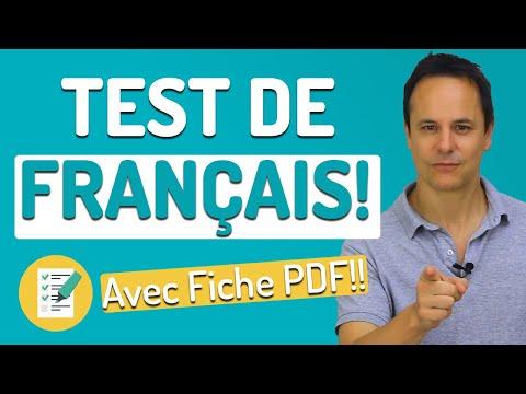 Test de Français avec PDF 📝