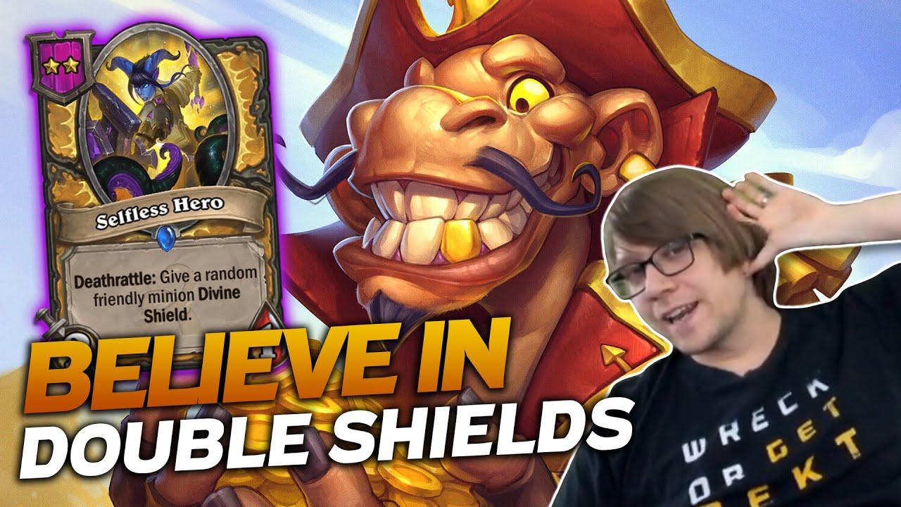 Savjz - Believe in the Double Shields! Trust Me! | Hearthstone Battlegrounds | Savjz