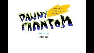 Danny Phantom MSPaint Intro - Jakobe