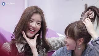เนยเน่ คู่นี้น่ารักจัง Noey BNK48 & June BNK48 (V.1)    ระวังโดนตก !