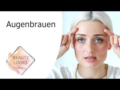 Augenbrauen - Welche Produkte nutze man wofür? mit Olesja
