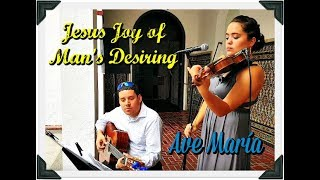 Jesus Joy of Man's Desiring & Ave María - Eleganza Violin & Guitar Ensemble
