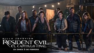 RESIDENT EVIL: EL CAPÍTULO FINAL. Matar hasta el último de ellos. Ya en cines.