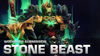Dota 2 Stone Beast (Wraith King Set - Collector's Cache Submission)