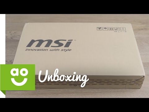 Unboxing the MSI GP72 6QF | ao.com