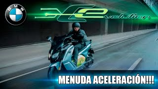 WOW...MENUDA ACELERACIÓN!!! BMW C EVOLUTION Dani Clos