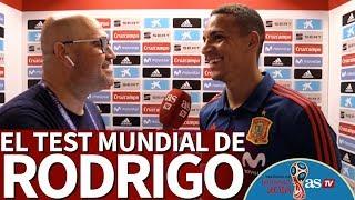 El test de Rodrigo Moreno en el Mundial 2018: el reggaeton no es lo suyo | Diario AS