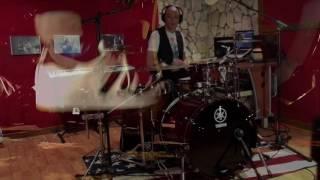 DRUM COVER - Daft Punk - Get Lucky Mario Giordano con Yamaha live Custom