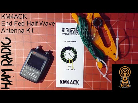 Ham Radio Antenna: End Fed Half Wave Antenna Kit by KM4ACK