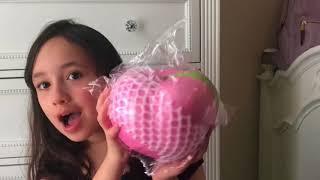 Puni Maru Super HUMONGOUS peachy peach Squishy!!! I Like BIG SQUISHIES and I can not Lie. width=