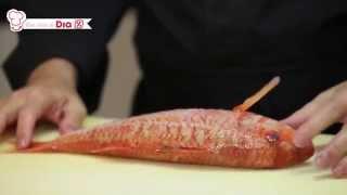 Ricardo Sanz (Kabuki) nos enseña el corte del pescado al estilo japonés