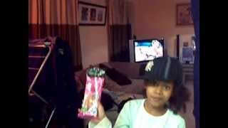 7 year old aleesa rapping freestyle