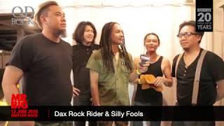 Dax Rock Rider & Silly Fools : เชิญแฟนเพลงร่วมงาน Concert MR.BIG Live in Bangkok 2018