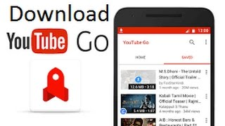 YouTube Go !! Easy & Fast Way To Watch Share Offline Video.   and    How to download YouTube Go