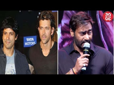 Hrithik – Farhan To Collaborate For A Film? | Ajay Talks About 'Tubelight' & 'JHMS' Failure