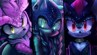 Beliver, Thunder, Whatever it takes Silver,Sonic and Shadow's voice