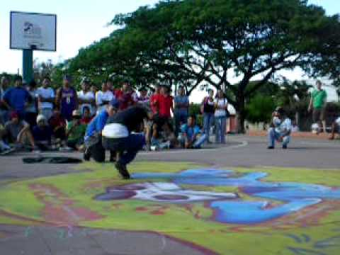 B Boy Nicaragua – Bboy-Tyky (SBC)  Vs Bboy-RubberHell (EOC)