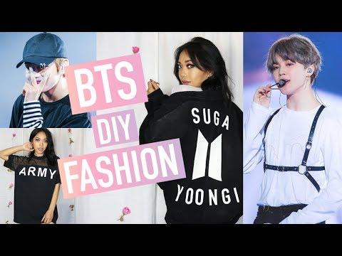 DIY BTS (방탄소년단) INSPIRED FASHION   Nava Rose