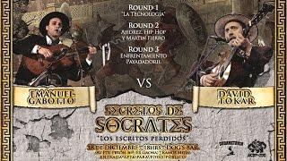 * EMANUEL GABOTTO vs DAVID TOKAR * en Secretos de Sócrates