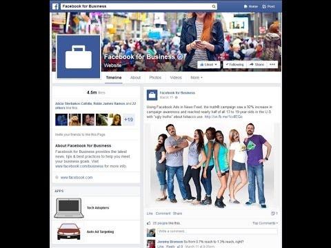 شرح سريع للتغيرات الجديدة في الصفحات العامة في الفيسبوك 2014