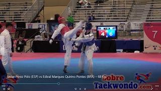 2017 US OPEN Javier Pérez Polo ESP vs Edival M. Quirino Pontes BRA