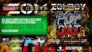 Pop Dat vs Terror Squad vs Prision Riot vs 24K (Yellow Claw EDC Las Vegas Mashup)