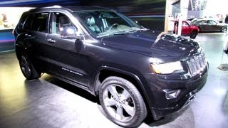2014 Jeep Grand Cherokee Overland - Exterior and interior Walkaround - 2013 Detroit Auto Show
