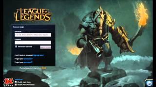 League of Legends Gangplank Login Screen + Music