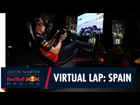 @Citrix Virtual Lap: Max Verstappen at the Spanish Grand Prix