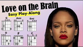 Rihanna - Love on the Brain - Moving Song Chart Play-Along (Clean)