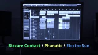 Bizzare Contact / Phanatic / Electro Sun collaboration (Teaser 2015)