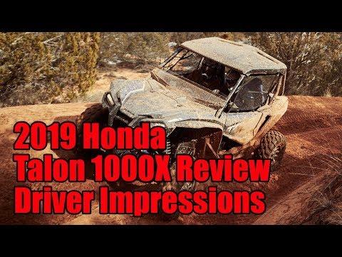 2019 Honda Talon 1000X Review: Driver Impressions