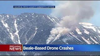 21 june 2017 / RQ-4 Global Hawk / Drone Crash / USAF / eastern Sierra Nevada mountain range / USA