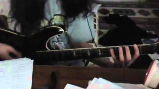 Naruto Shippuuden ost 2 - Crimson Flames Guitar Cover