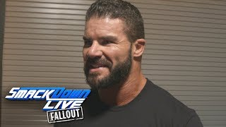 Bobby Roode reacts to his win over Mike Kanellis: SmackDown LIVE Fallout, Sept. 5, 2017