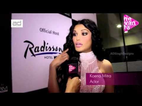 Koena Mitra Experiences with AD Singh's Collection @ Punjab International Fashion Week