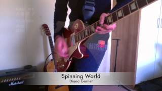 Naruto Shippuden (ナルト 疾風伝) - Ending 32 Guitar Cover - Spinning World (Diana Garnet)
