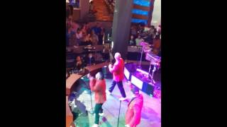 T.K.A live at the casino in Queens New York pt.1