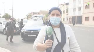 Covid-19 : Vaste opération de stérilisation de taxis à Rabat