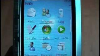 Windows 7 Theme On Nokia 5310 XpressMusic - YouTube
