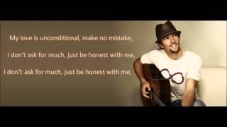 Jason Mraz ft. Inara George - Be Honest (lyrics)