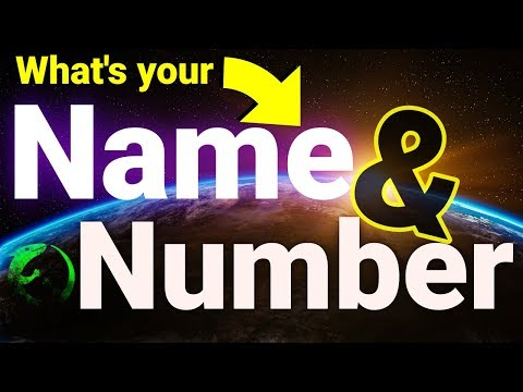 Is your name also a NUMBER? | Find what number your name is with math and code