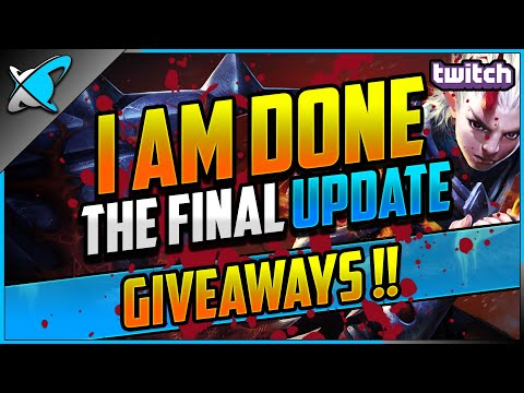 I AM DONE... The FINAL Update... | GEMS & DRACOINS Giveaway !!! | RAID: Shadow Legends