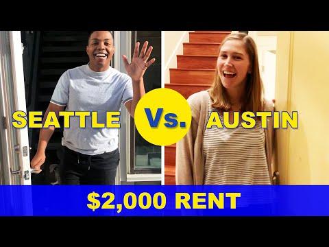 $2,000 Rent: Seattle Vs. Austin