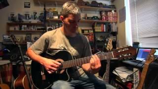 Gran Vals - Tarrega. Fairground style! Gibson Chet Atkins and Electro-Harmonix B9