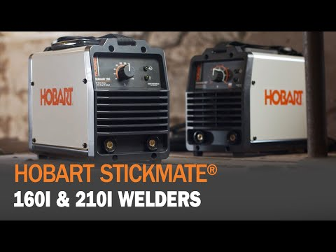 Hobart Stickmate 160i and 210i Welders Provide Dependability, Durability and Por...