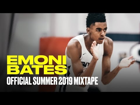 Emoni Bates OFFICIAL Summer 2019 Mixtape - The HYPE is Real!