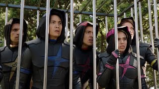 "Power Rangers Super Ninja Steel - The Prism Returns   Episode 1 ""Echoes of Evil"""